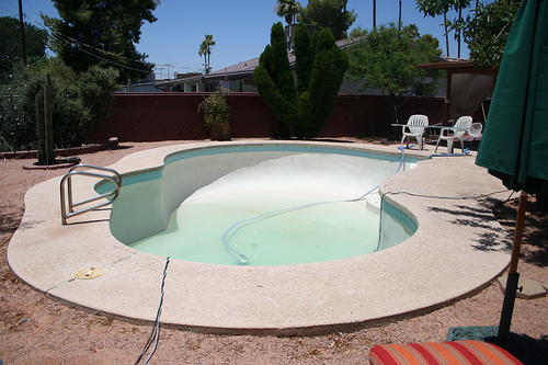 Fha 203k Project Fill In The Unwanted Pool