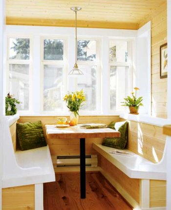 Build a Beautiful Breakfast Nook with a Renovation Loan