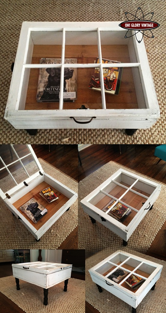 DIY Home Decor Coffe Table Idea