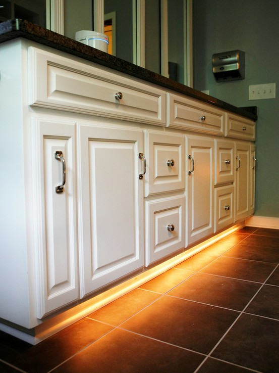 DIY Home Improvement Under the Cabinet Night Lights