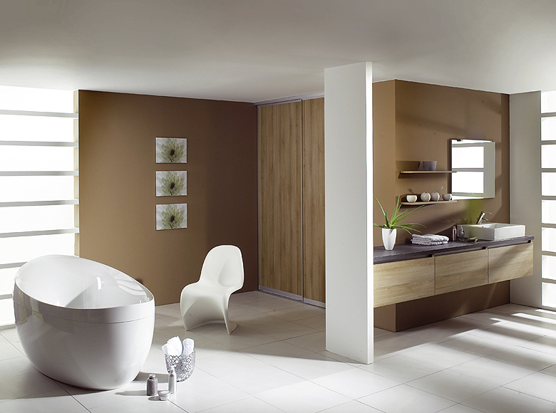 Modern Bathroom Design Home Improvement Idea