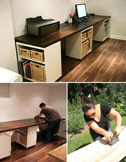 DIY Home Improvement Unique Desk