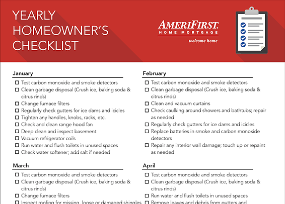 yearly home maintenance checklist_snippet