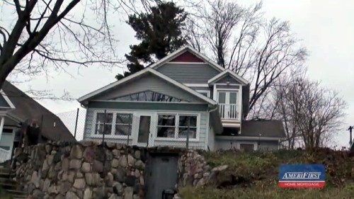Refinance and Remodel Lakeside Cottage Turned Into Year Round Home