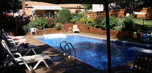 Want A Beautiful Back Yard Dont Neglect Your Pool And Patio