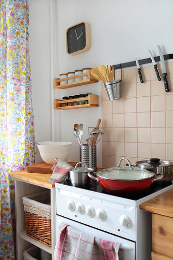 diy home decor: 5 organizing tricks for creating an efficient kitchen