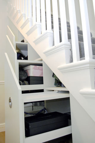 ... Dream Home Design Ideas For An Amazing House Stair Storage 2