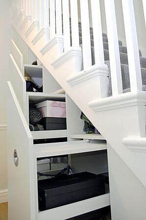Dream Home Design Ideas for an Amazing House stair storage 2