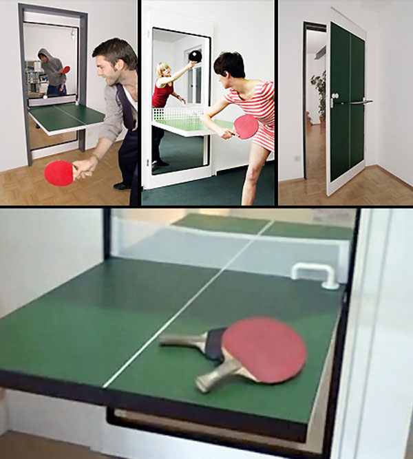 Dream Home Design Ideas for an Amazing House ping pong door