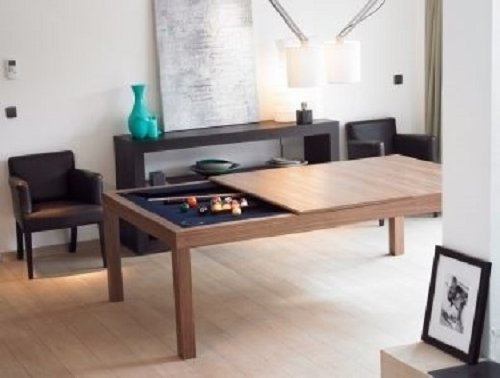 Dream Home Design Ideas For An Amazing House Dining Pool Table 2