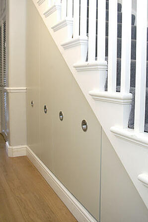 Dream Home Design Ideas for an Amazing House stair storage 1