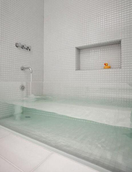 Dream Home Design Ideas for an Amazing House invisible bathtub