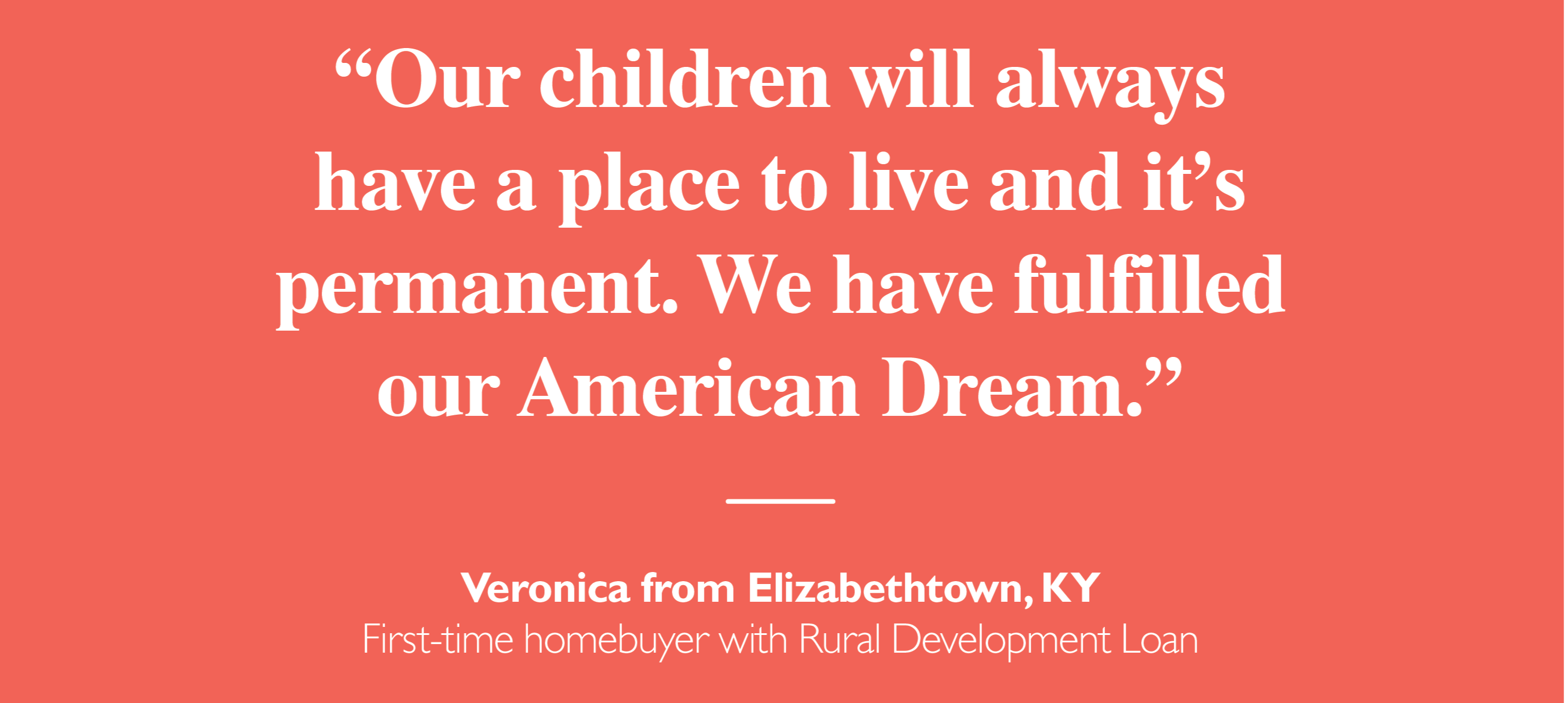Quote from Veronica in Elizabethtown, KY